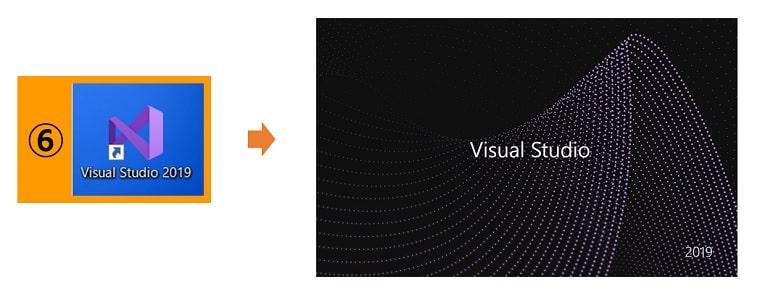 Visual Studioの起動